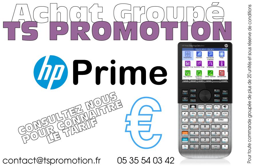 Achat Groupé HP Prime